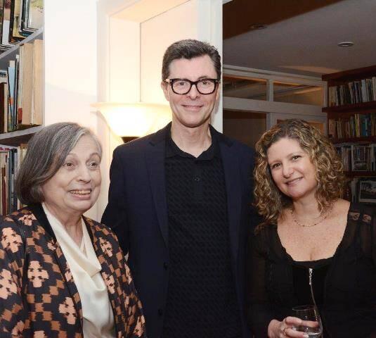 Vera Pedrosa, Marcelo Bies e Sandra Niskier Flanzer