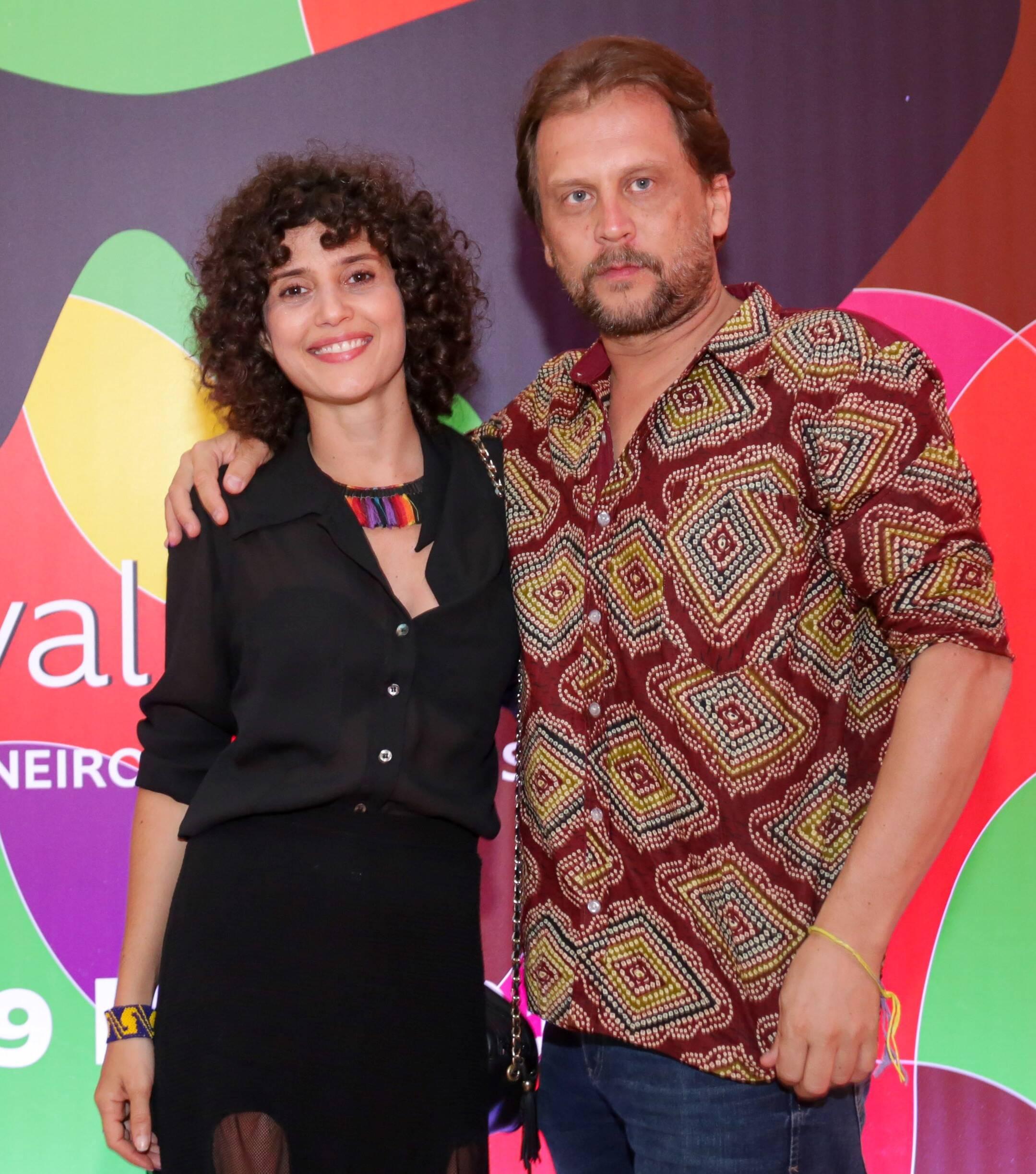 Gabriela Carneiro da Cunha e Eryk Rocha /Foto: Davi Campana