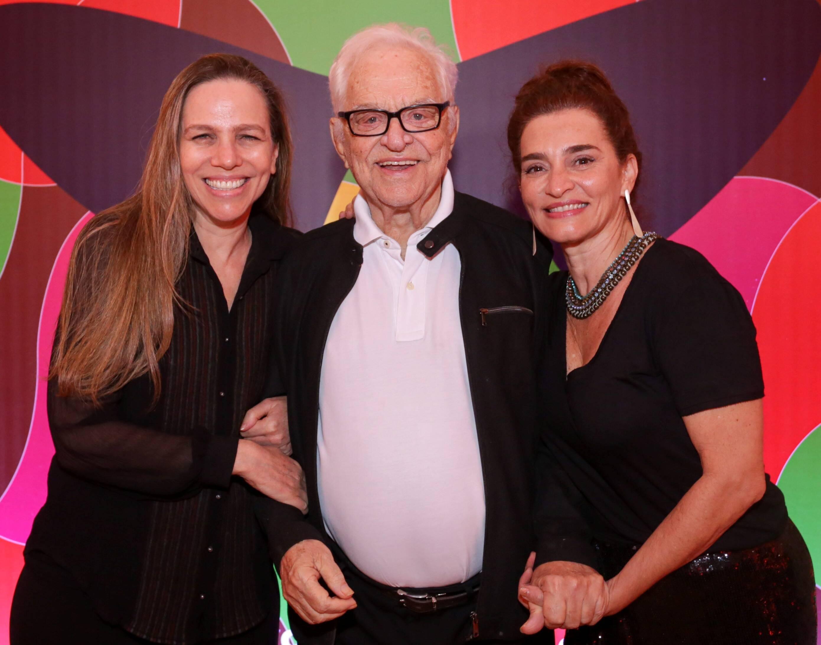 Sandra Kogut, Rogério Fróes e Gisele Fróes /Foto: Davi Campana