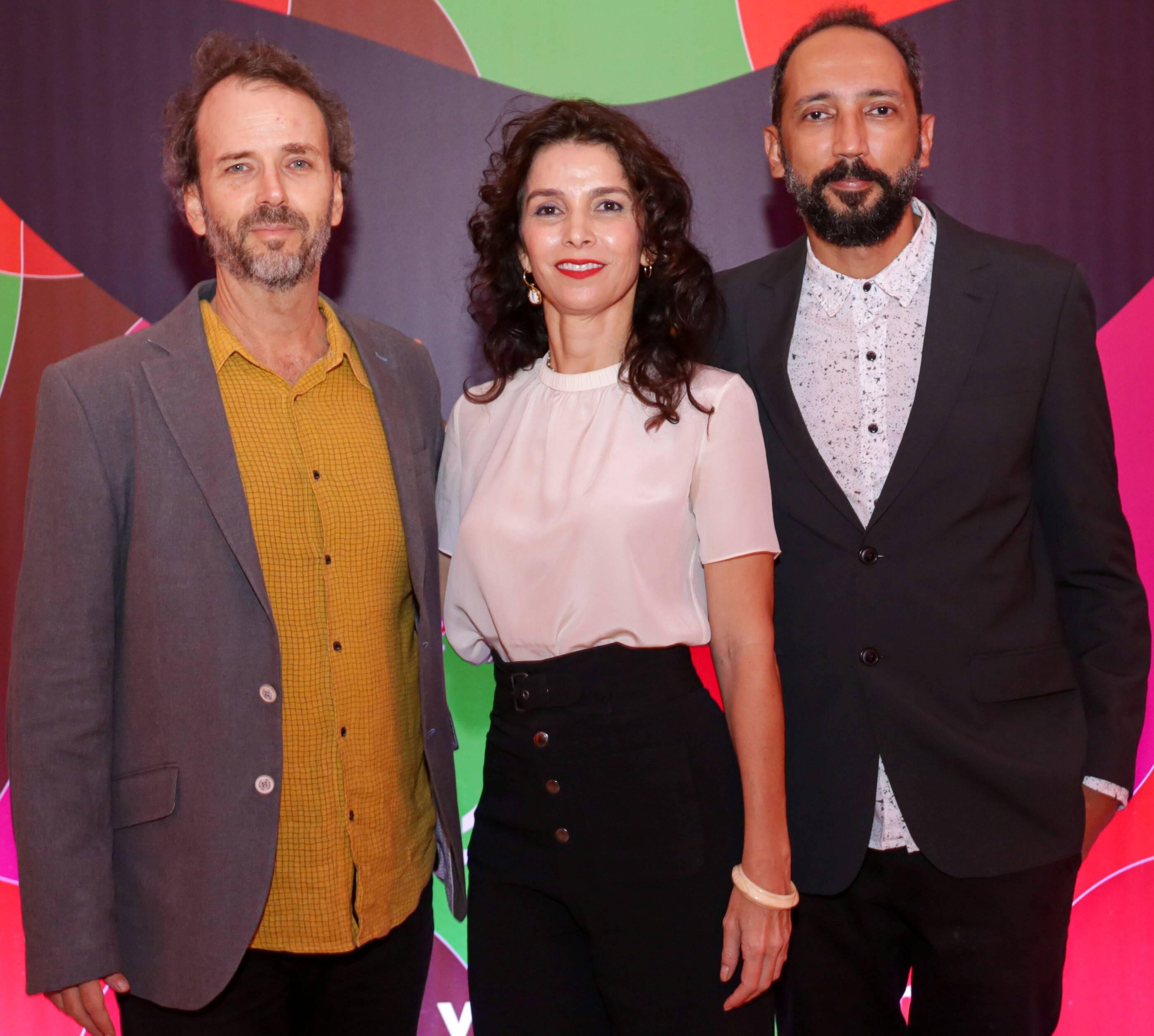 Lula Buarque de Holanda, Letícia Monte e Emílio Domingos /Foto: Davi Campana