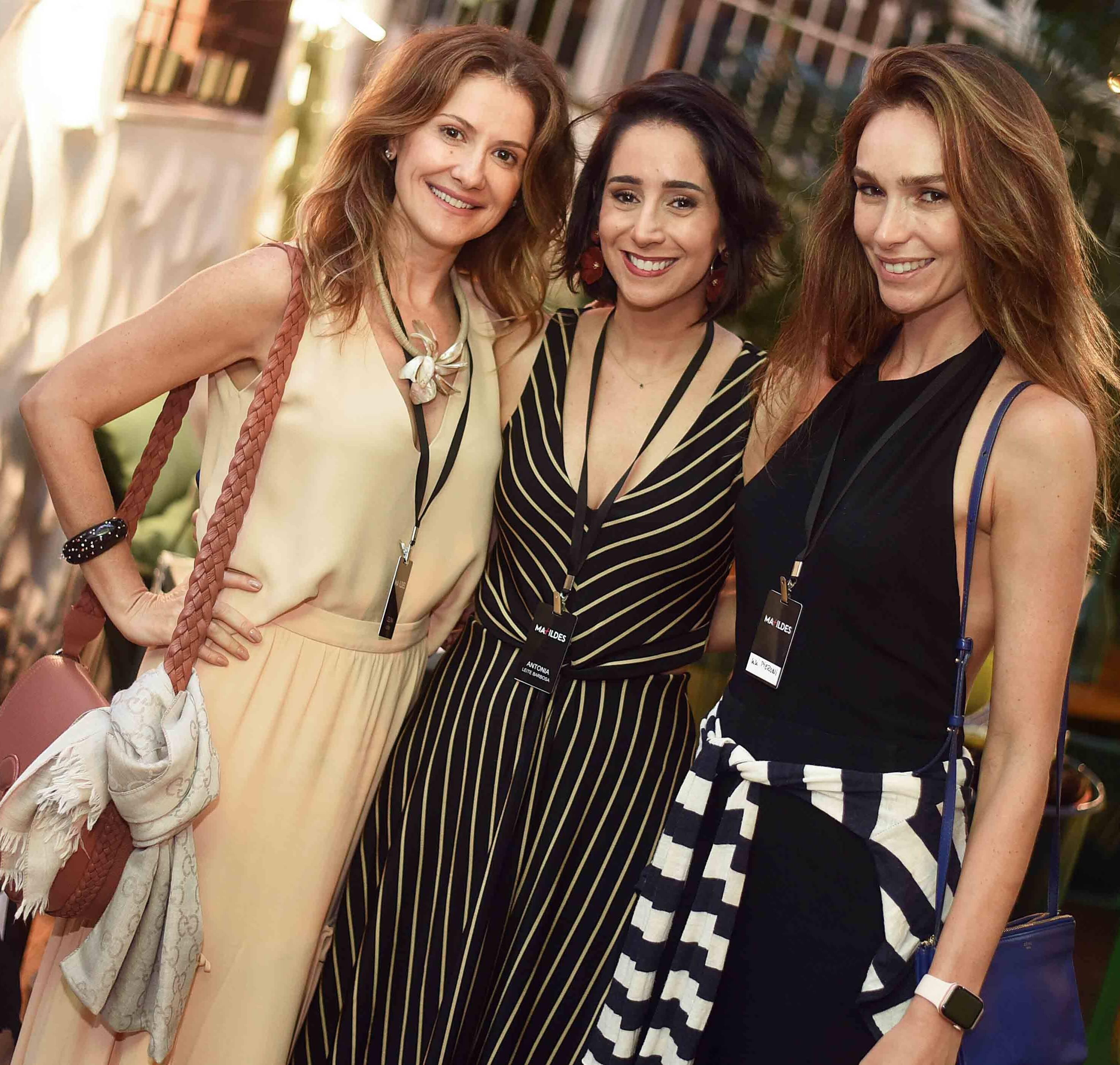 Celina Werneck, Antonia Leite Barbosa e Lilian Pieroni  /Foto: Ari Kaye