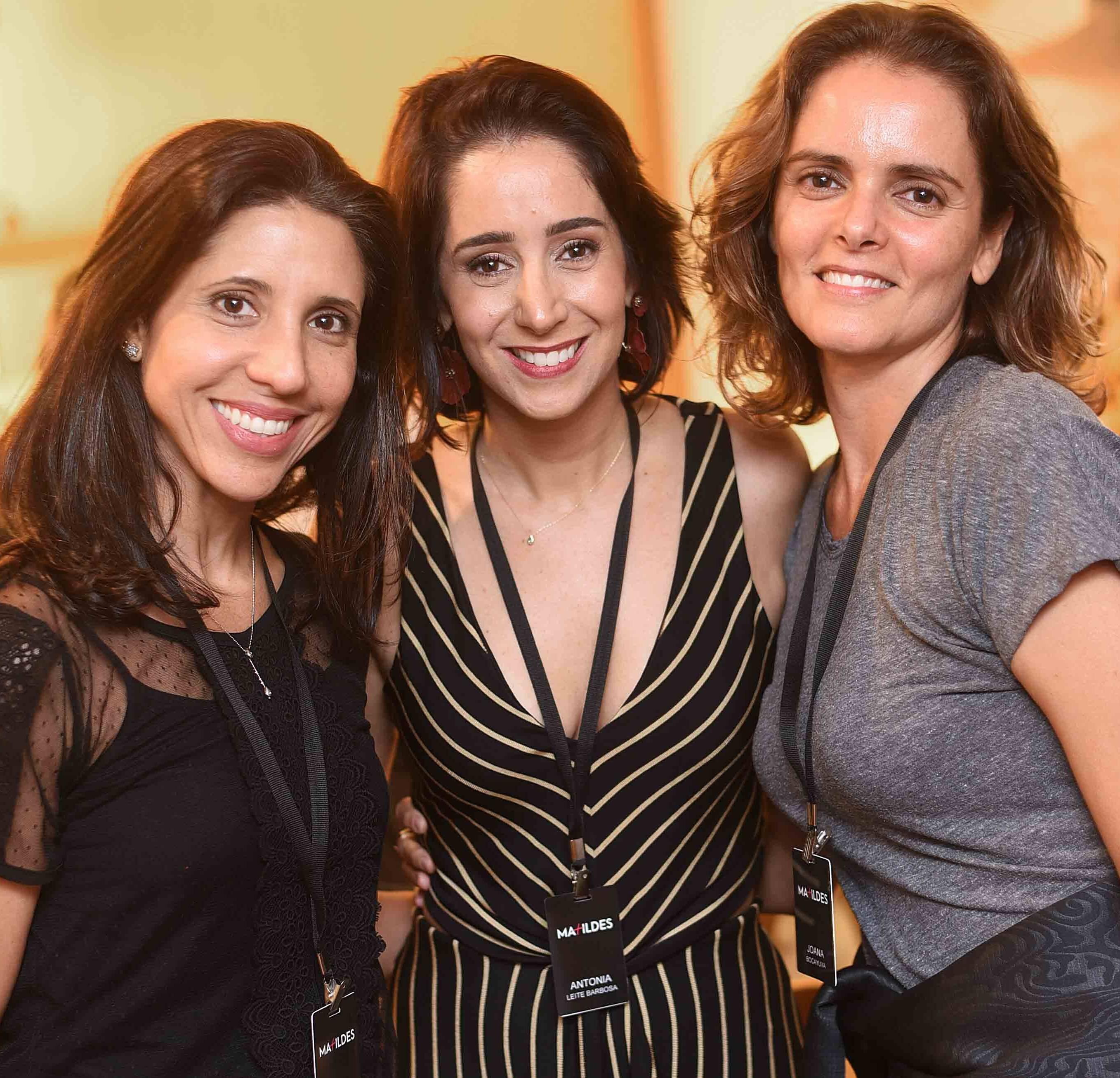 Daniela Tarré, Antonia Leite Barbosa e Joana Bocayuva  /Foto: Ari Kaye