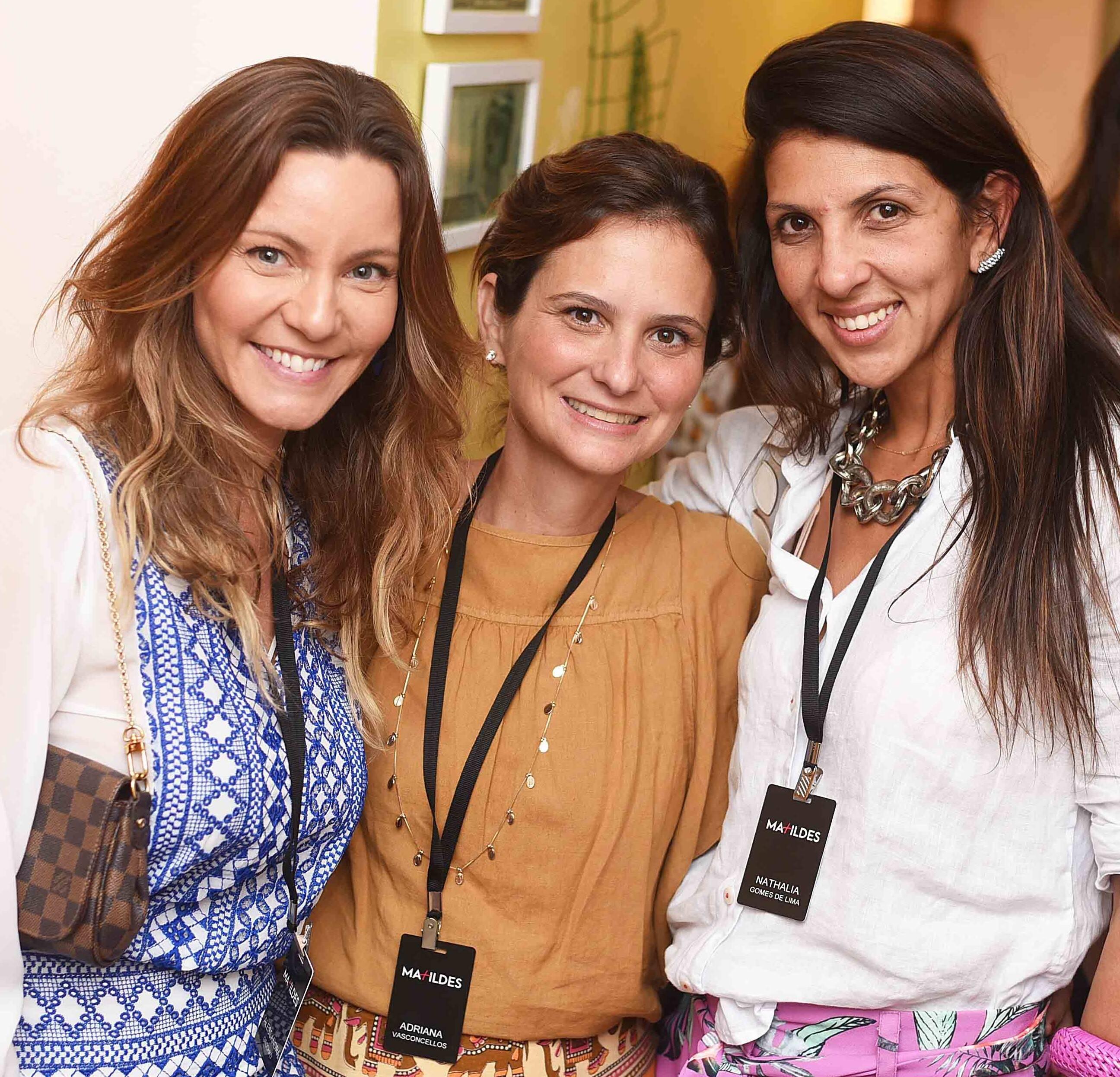 Alessandra Grochko, Adriana Vasconcellos e Nathalia Gomes de Lima  /Foto: Ari Kaye