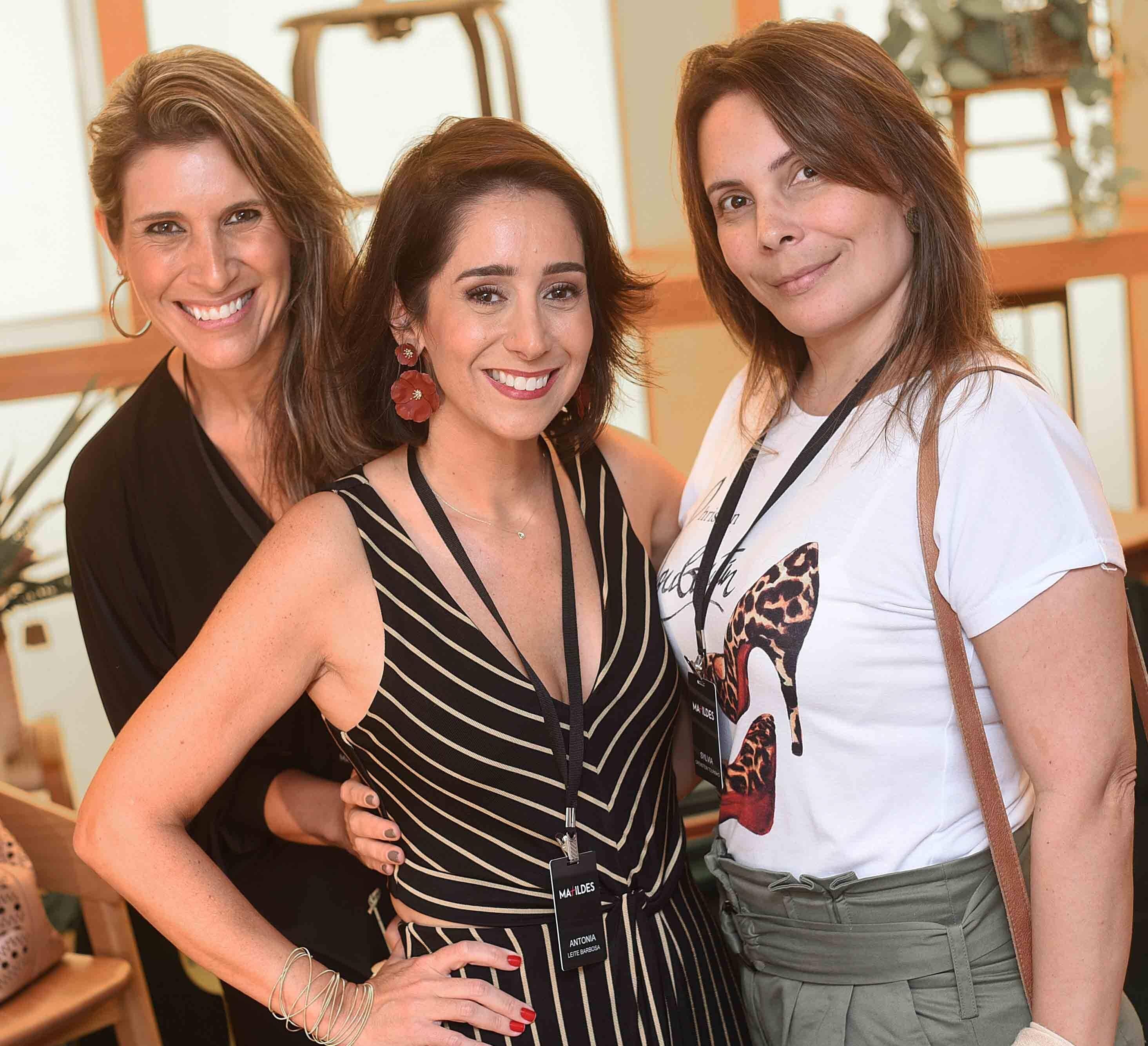 Juliana Moscofian, Antonia Leite Barbosa e Sylvia Orenstein Tourinho  /Foto: Ari Kaye