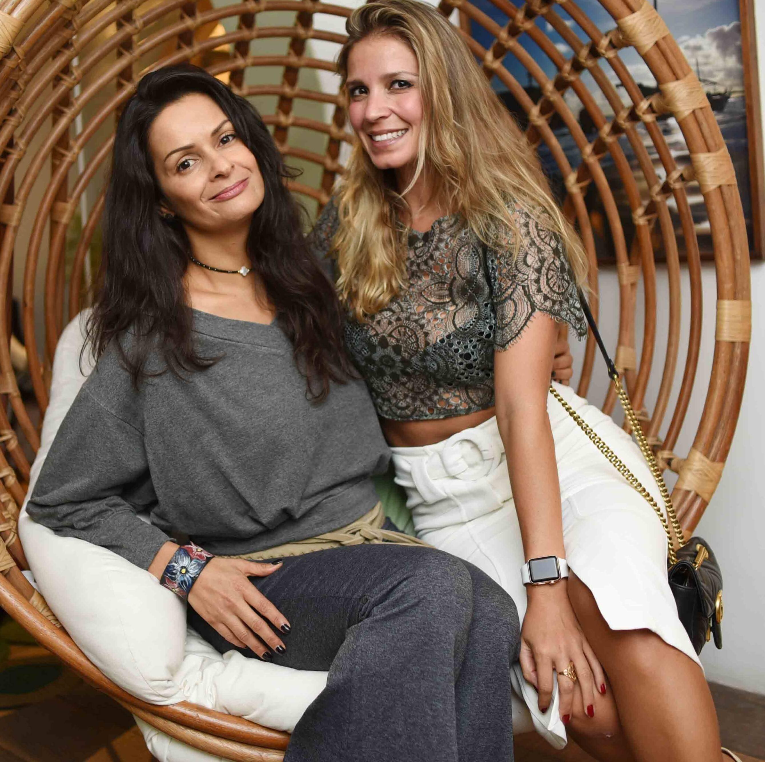 Sandra Strauss e Aline Araujo  /Foto: Ari Kaye