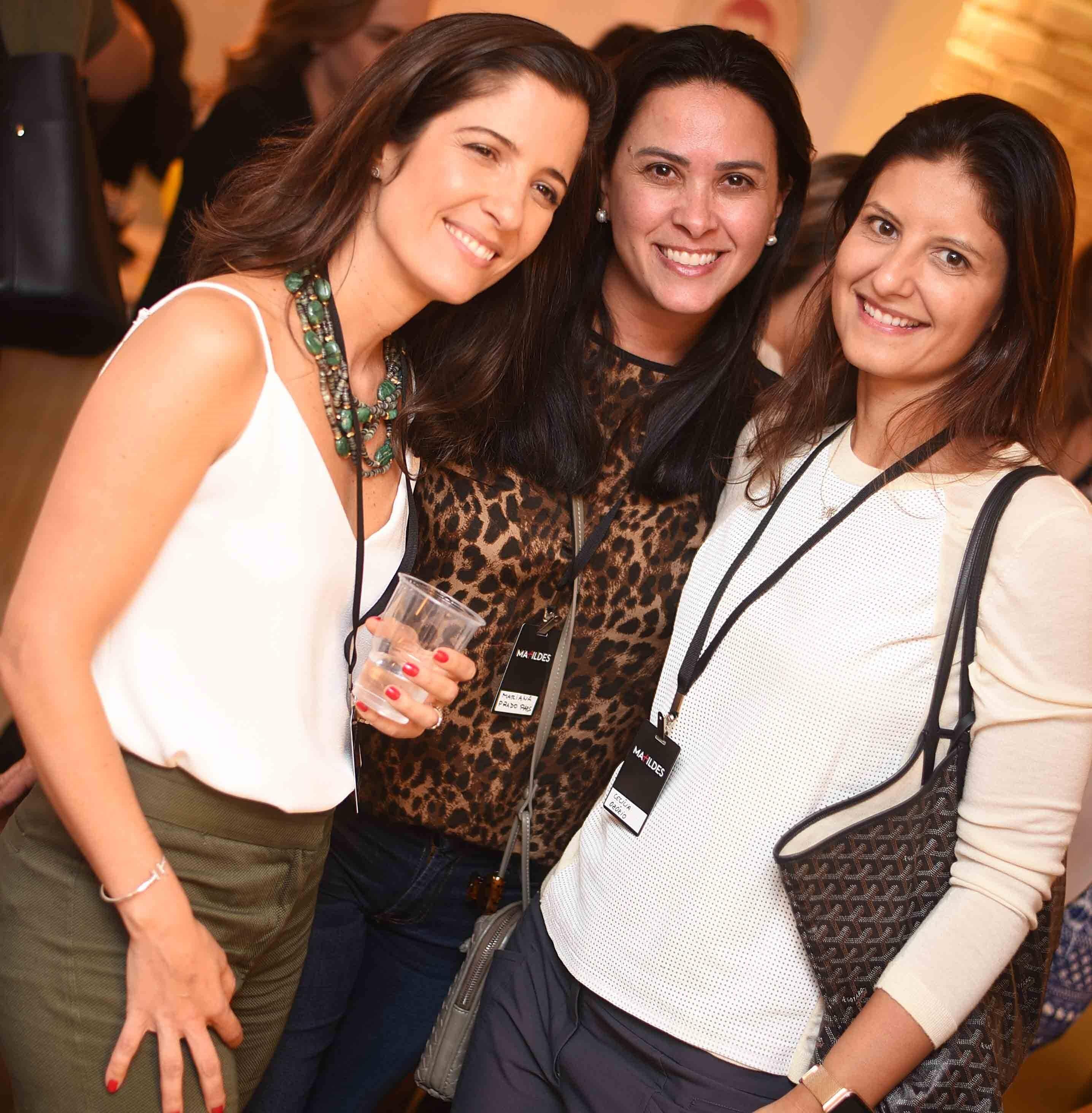 Teresa Lustosa, Mariana Prado Paes e Cecilia Ozorio  /Foto: Ari Kaye