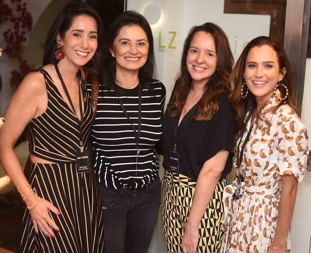 Antonia Leite Barbosa, Ticiana Azevedo, Fernanda Fehring e Joana Nolasco  /Foto: Ari Kaye