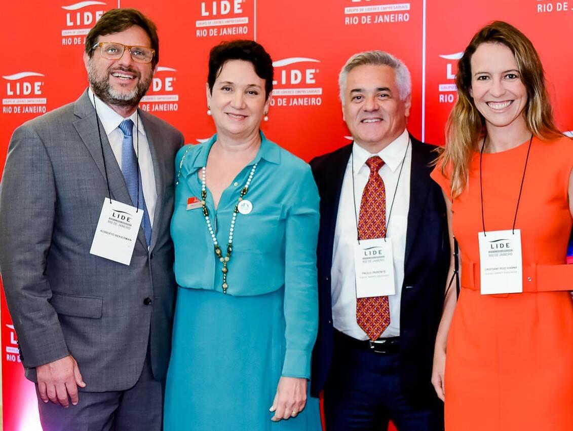 Roberto Bekierman, Paula Vianna, Paulo Parente  e Cristiane Ruiz Vianna /Foto: Renato Wrobel