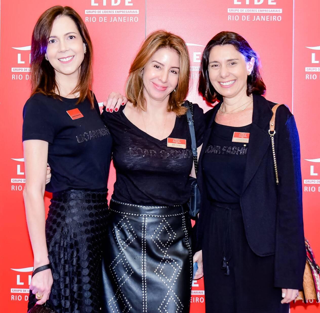 Andrea Brandão, Ana Perez e Alexandra Martins /Foto: Renato Wrobel