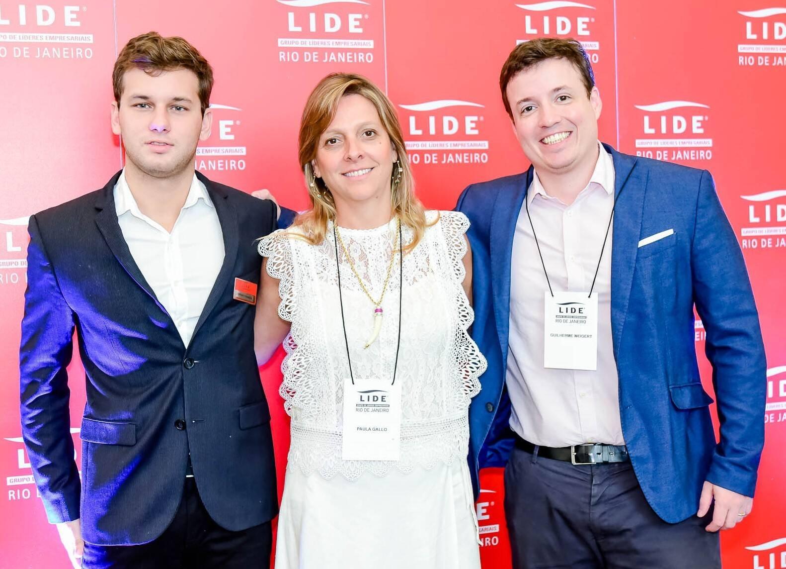 Fernando Domingues, Paula Gallo e Guilherme Weigert  /Foto: Renato Wrobel