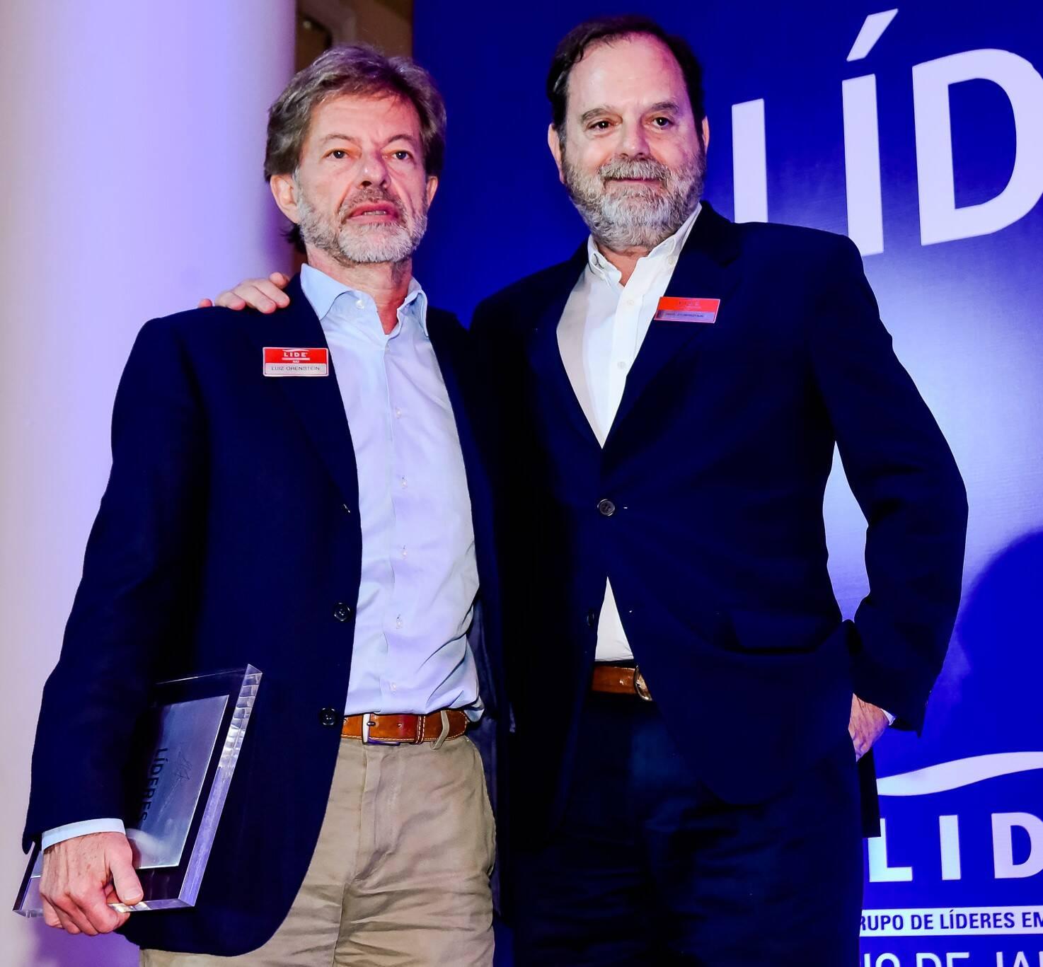 Luiz Orenstein e David Zylbersztajn /Foto: Renato Wrobel