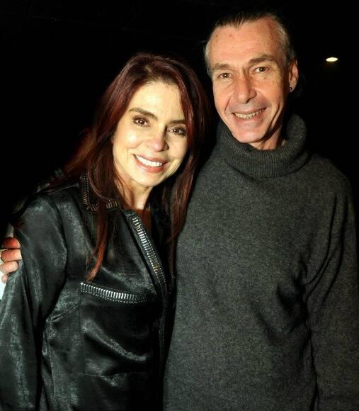 Françoise Forton e Ignácio Coqueiro