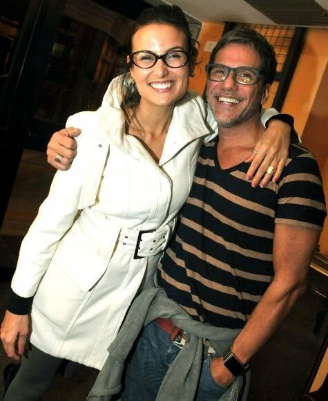 Úrsula Corona e Marcelo Faustini
