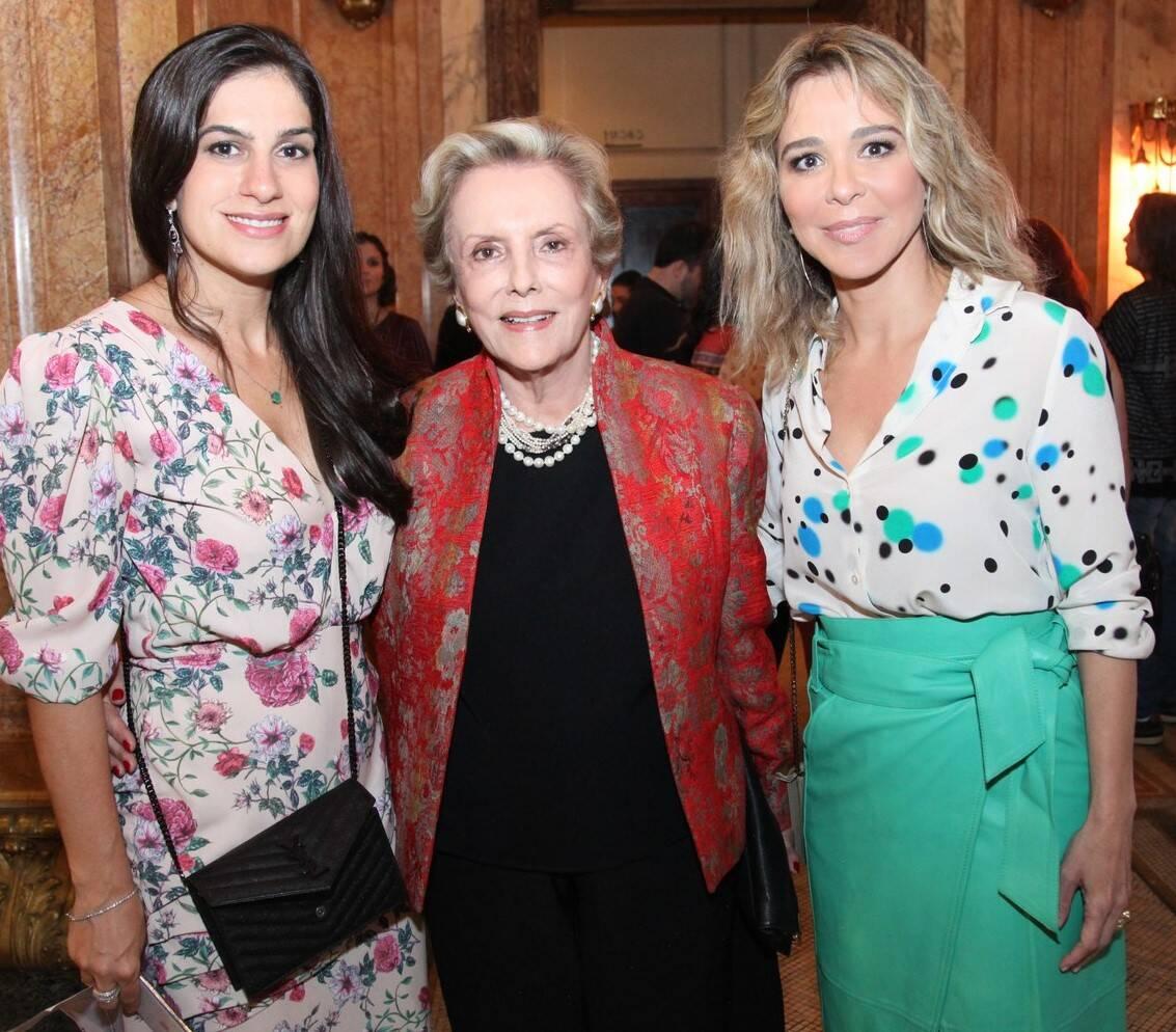 Paula Raso, Teresa Bulhões e Letícia Rangel /Foto: Vera Donato