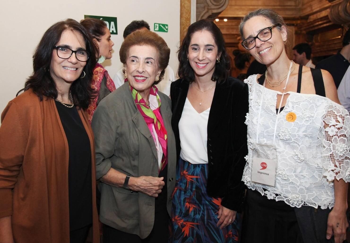 Katia Mindlin, Dalal Achcar, Antonia Leite Barbosa e Flavia Tenorio /Foto: Vera Donato
