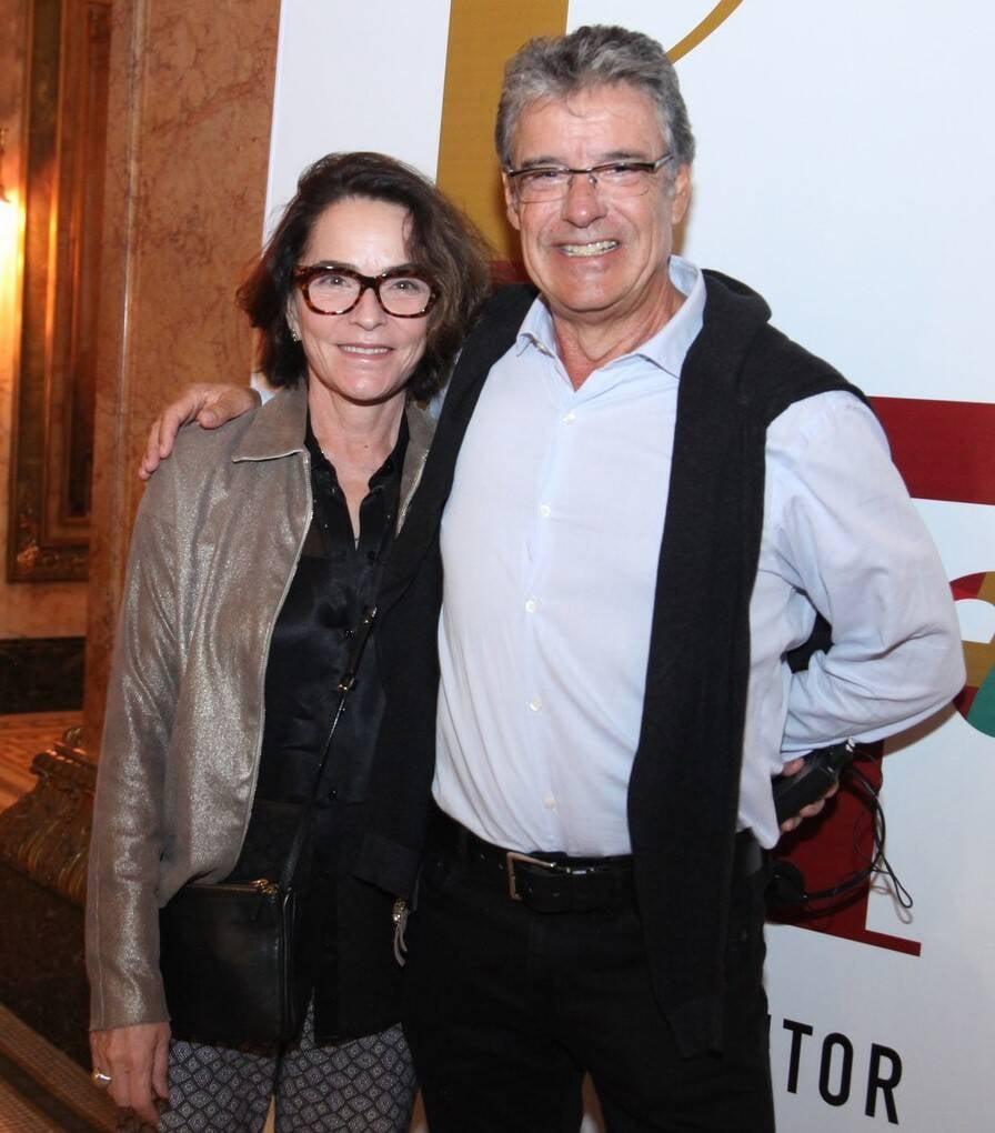 Evangelina Seiler e Paulo Henrique Cardoso /Foto: Vera Donato