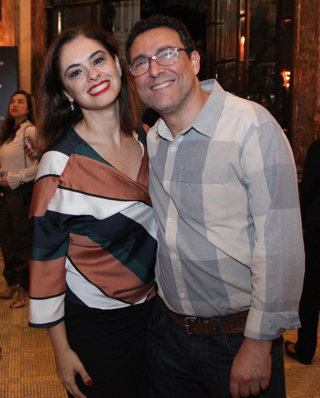 Fabiana Rajo e André Calazans /Foto: Vera Donato