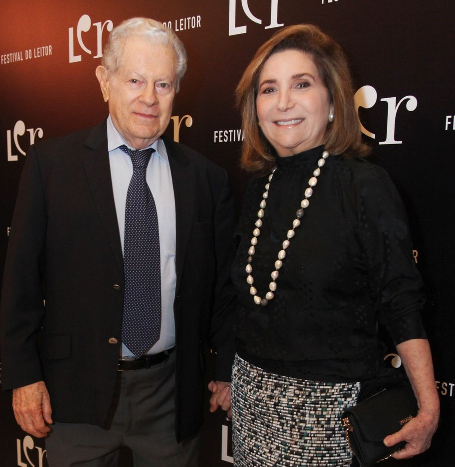Ruth e Arnaldo Niskier /Foto: Vera Donato