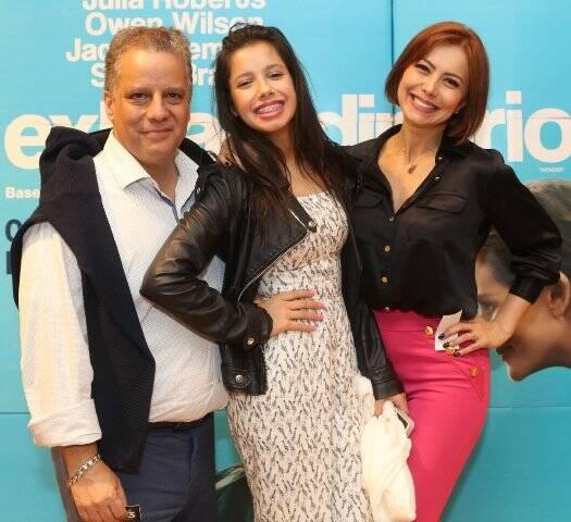 Mário Meirelles, Luana Soares e Simone Soares