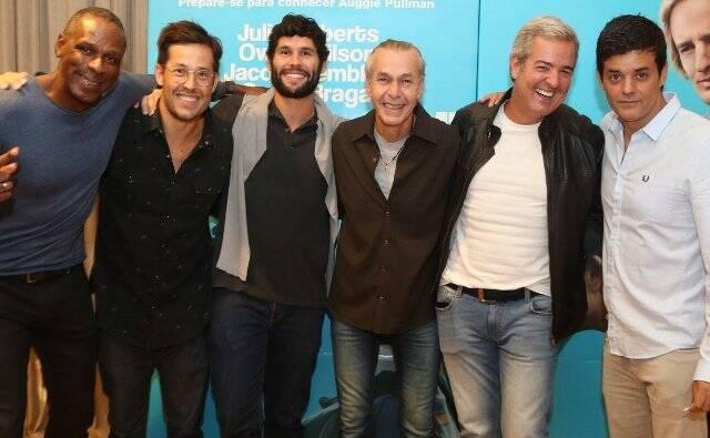 Robson Caetano, Roger Gobeth, Dudu Azevedo, Ignácio Coqueiro, Thomaz Naves e Jorge Pontual