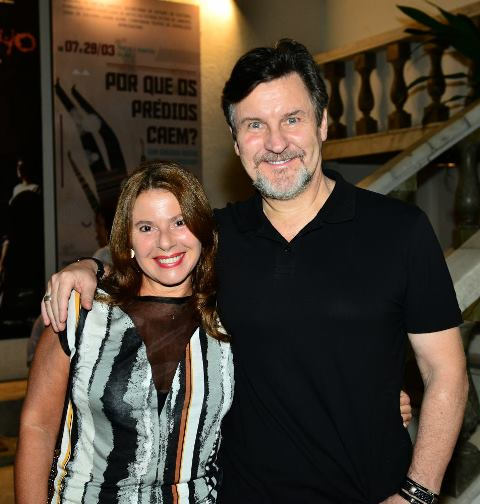 Ilse e Antônio Calloni