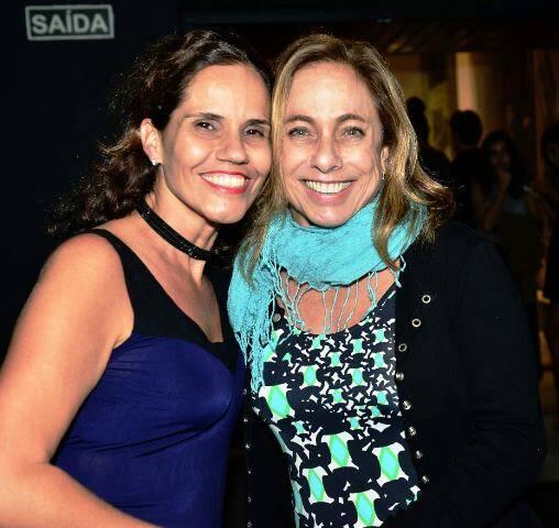Joana Motta e Cissa Guimarães