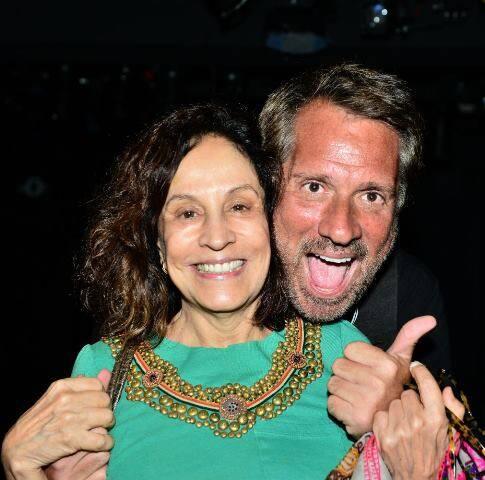 Stella Miranda e Luis Salém