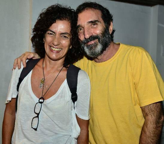 Tânia Nardini e Edgar Duvivier