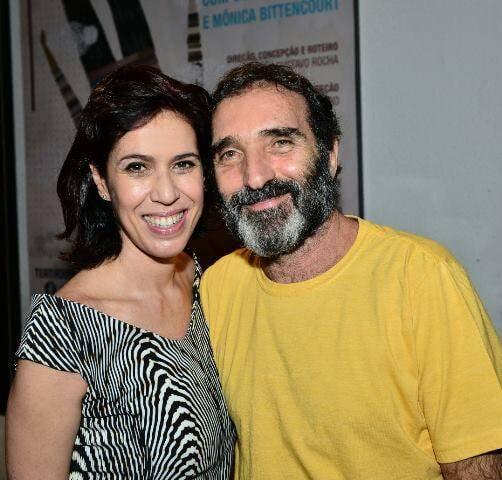 Maria Clara Gueiros e Edgar Duvivier