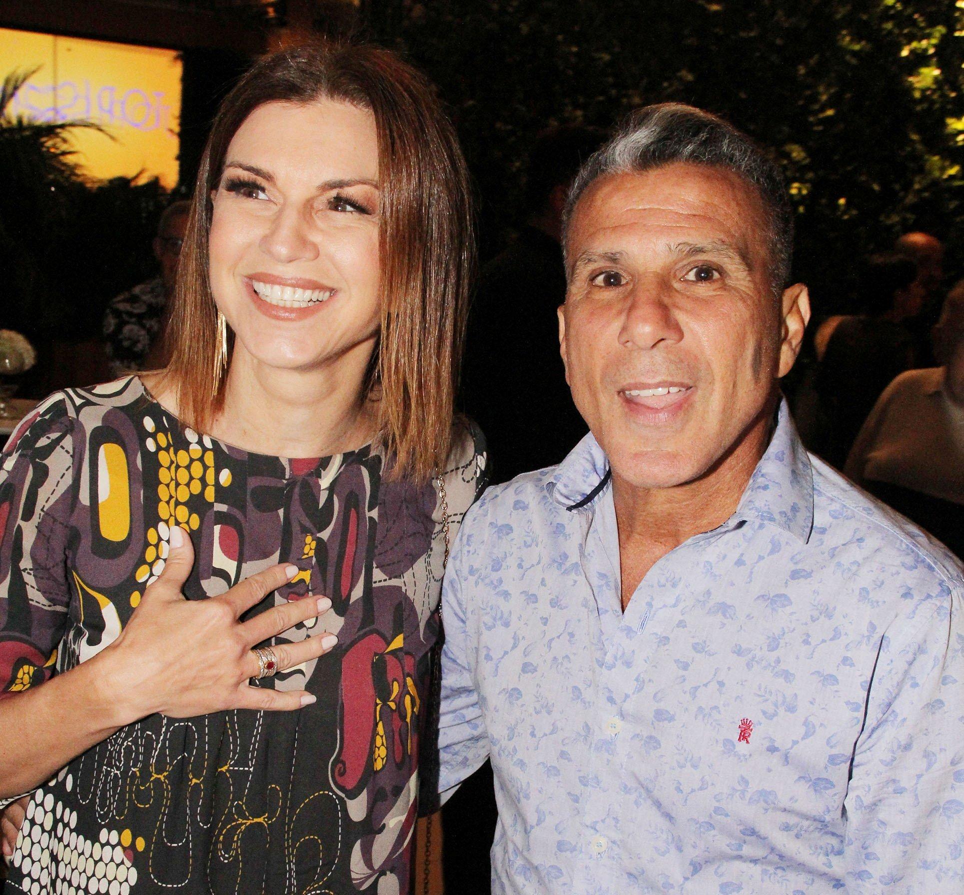 Adriana Garambone e Eri Johnson / Foto: Paulo de Deus