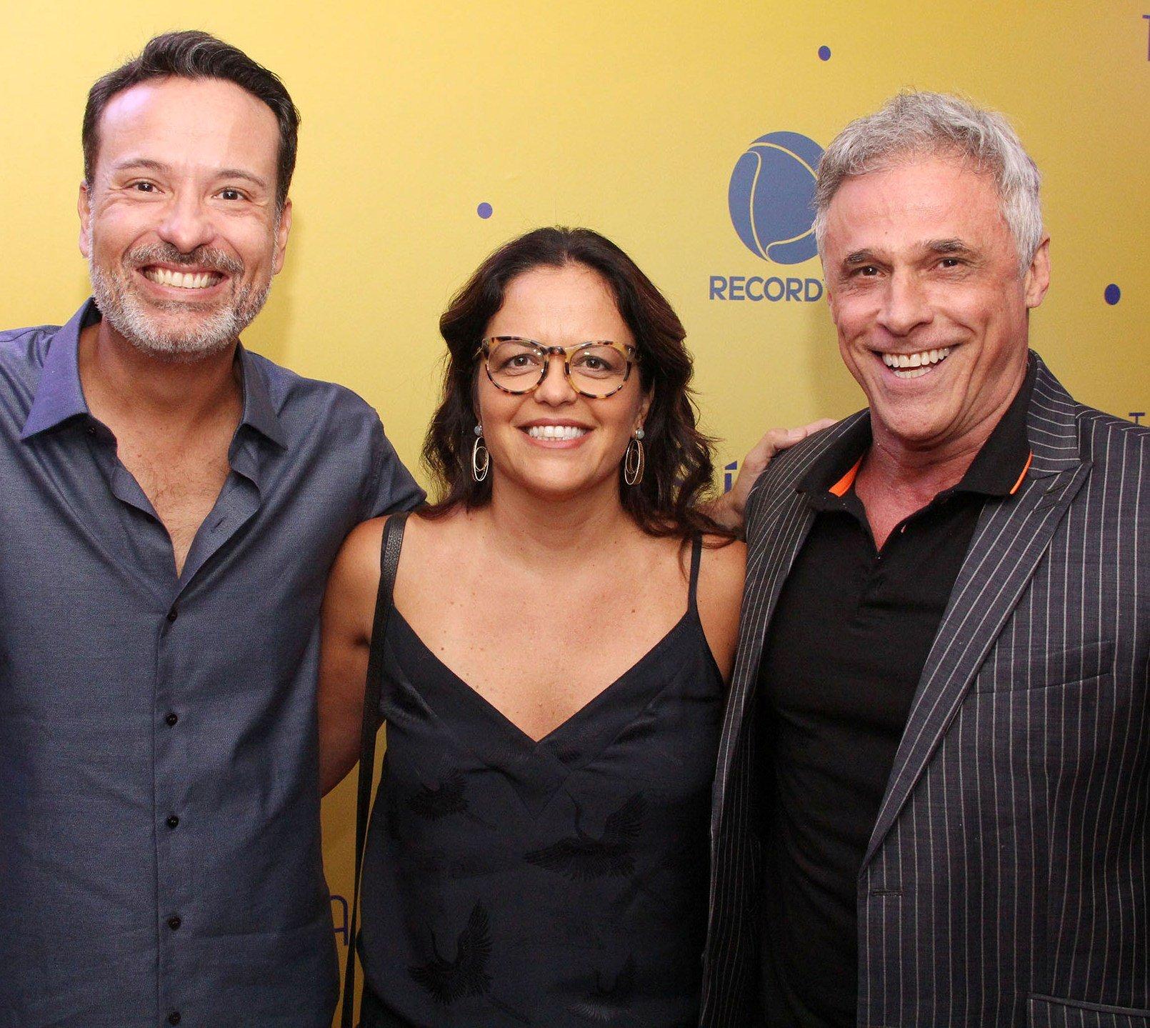 Edgar Miranda, Fabiana Fontoura e Oscar Magrini / Foto: Paulo de Deus