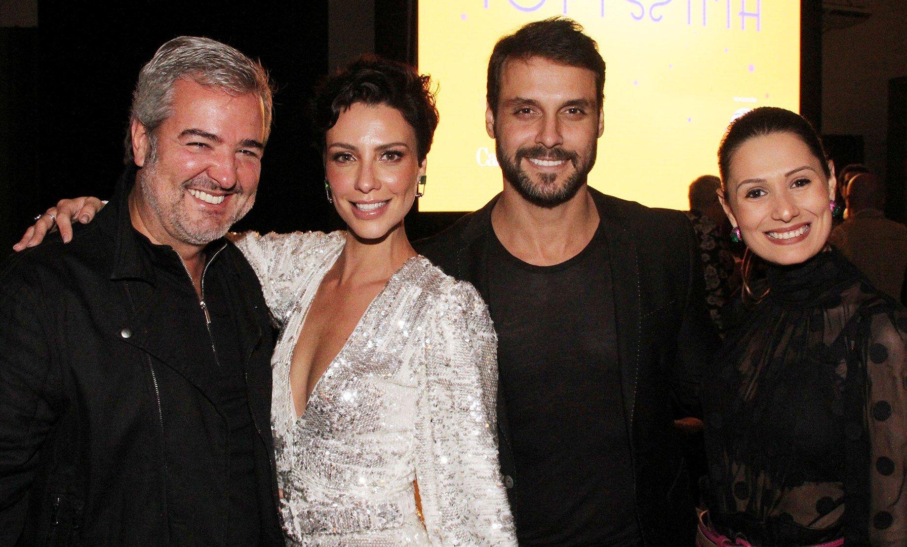 Thomaz Naves , Camila Rodrigues, Felipe Cunha e Camilla Carvalho / Foto: Paulo de Deus