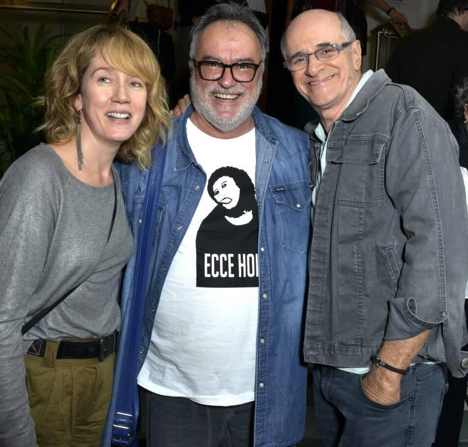 Camila Morgado , Gabriel Villela e Marcos Caruso /Foto: Cristina Granato