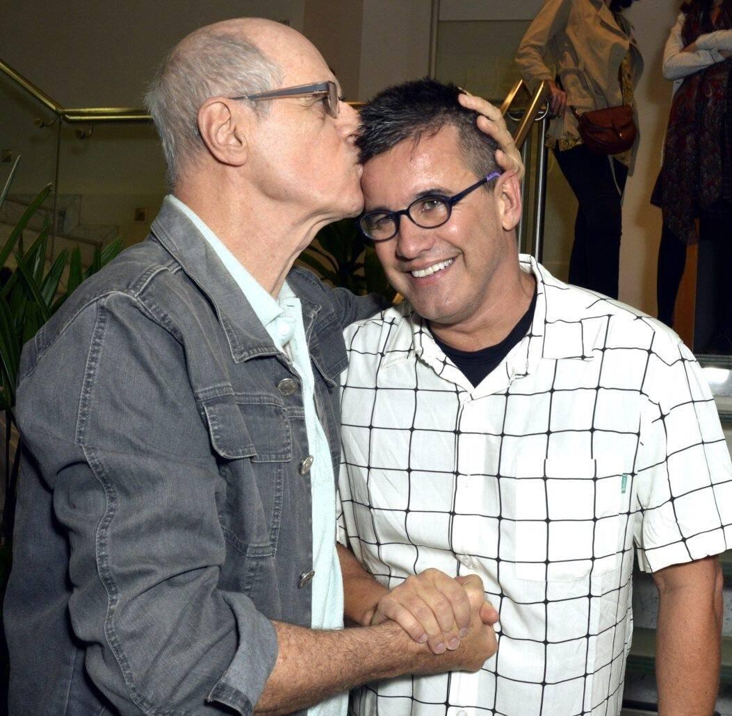 Marcos Caruso e Claudio Fontana /Foto: Cristina Granato