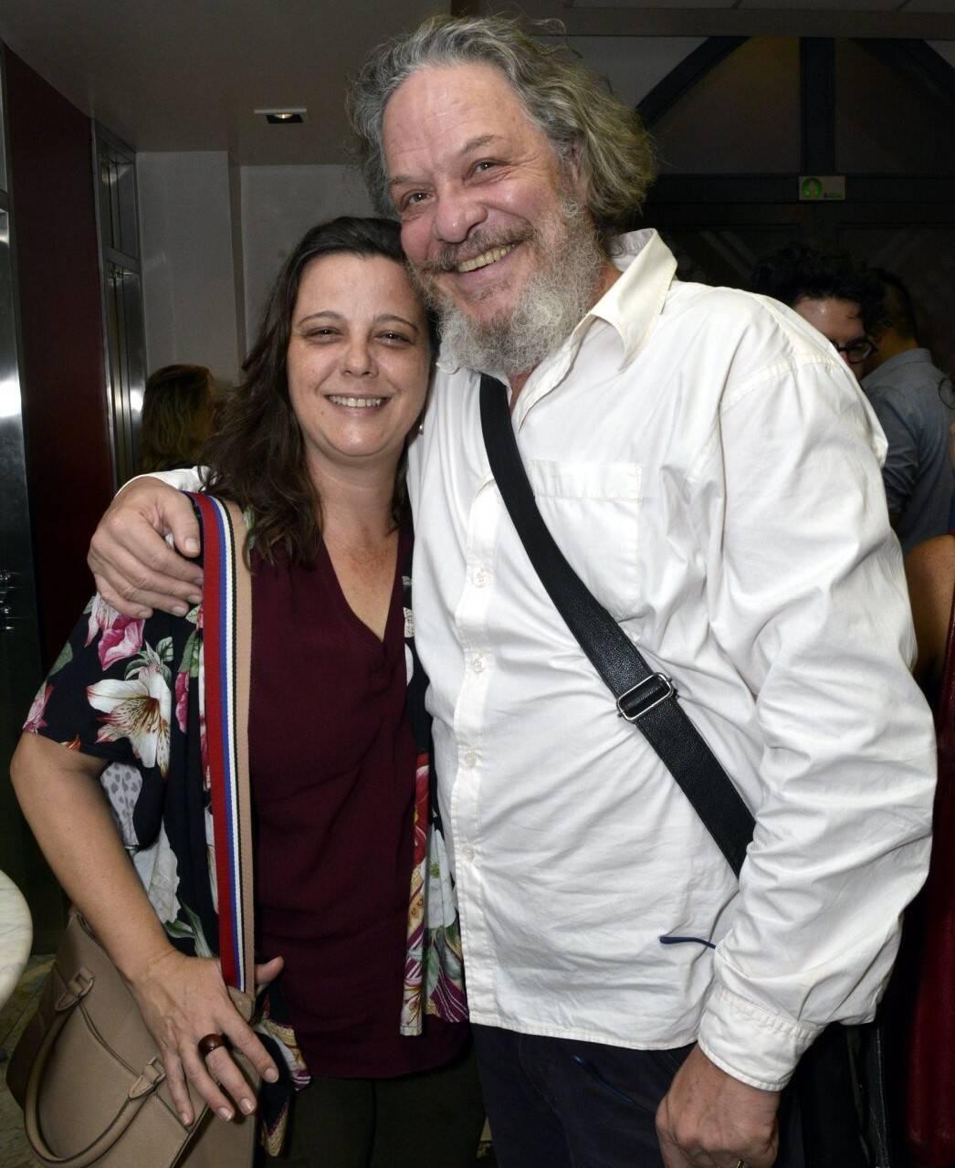 O casal Karina e Ernani Moraes /Foto: Cristina Granato