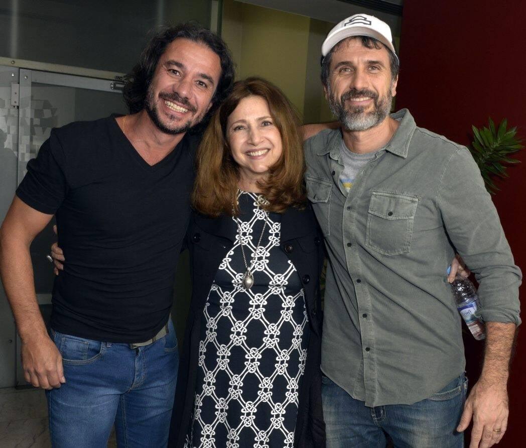 Chico Carvalho, Malu Valle e Eriberto Leão /Foto: Cristina Granato