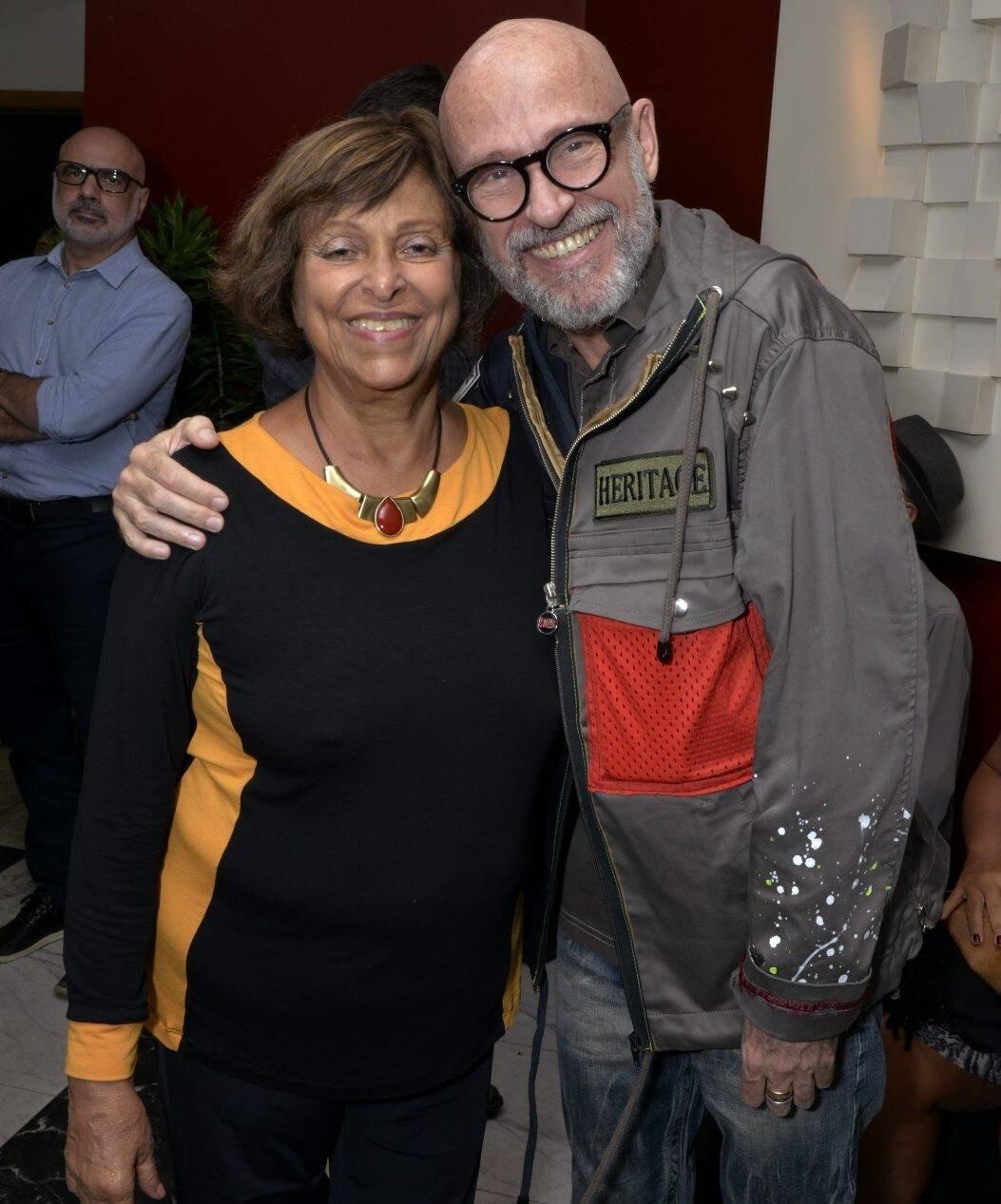 Tetê Moraes e Gilberto Gavronski /Foto: Cristina Granato