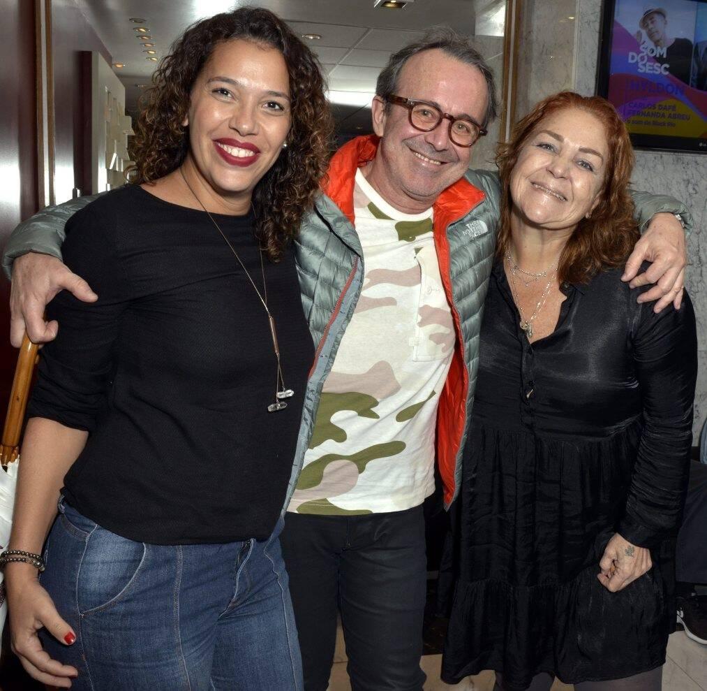 Malú Costa, Nelson Fonseca e Yolanda Aguiar /Foto: Cristina Granato