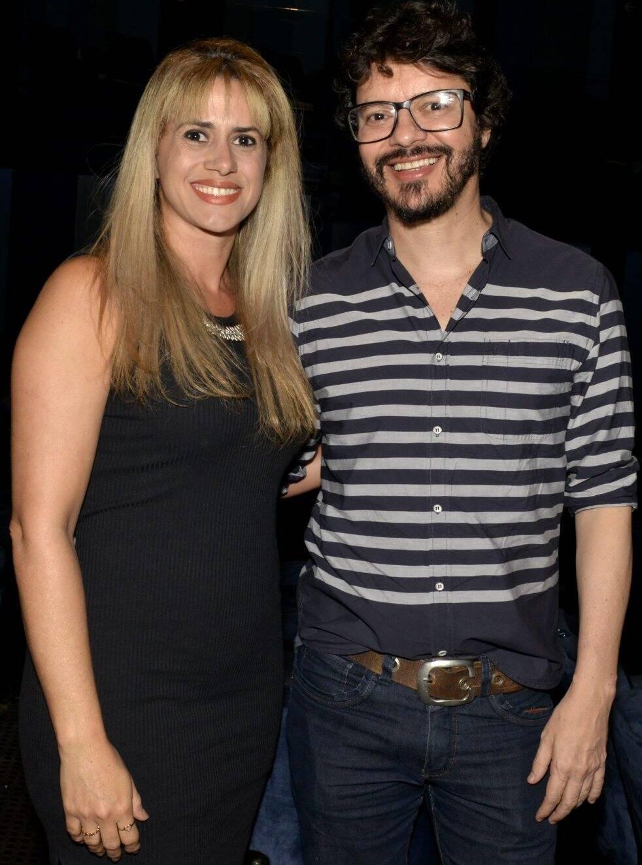 O casal Suedir Martins e André Junqueira