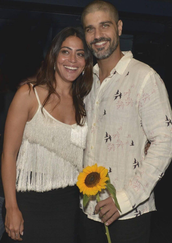 O casal Carol Castro e Bruno Cabrerizo