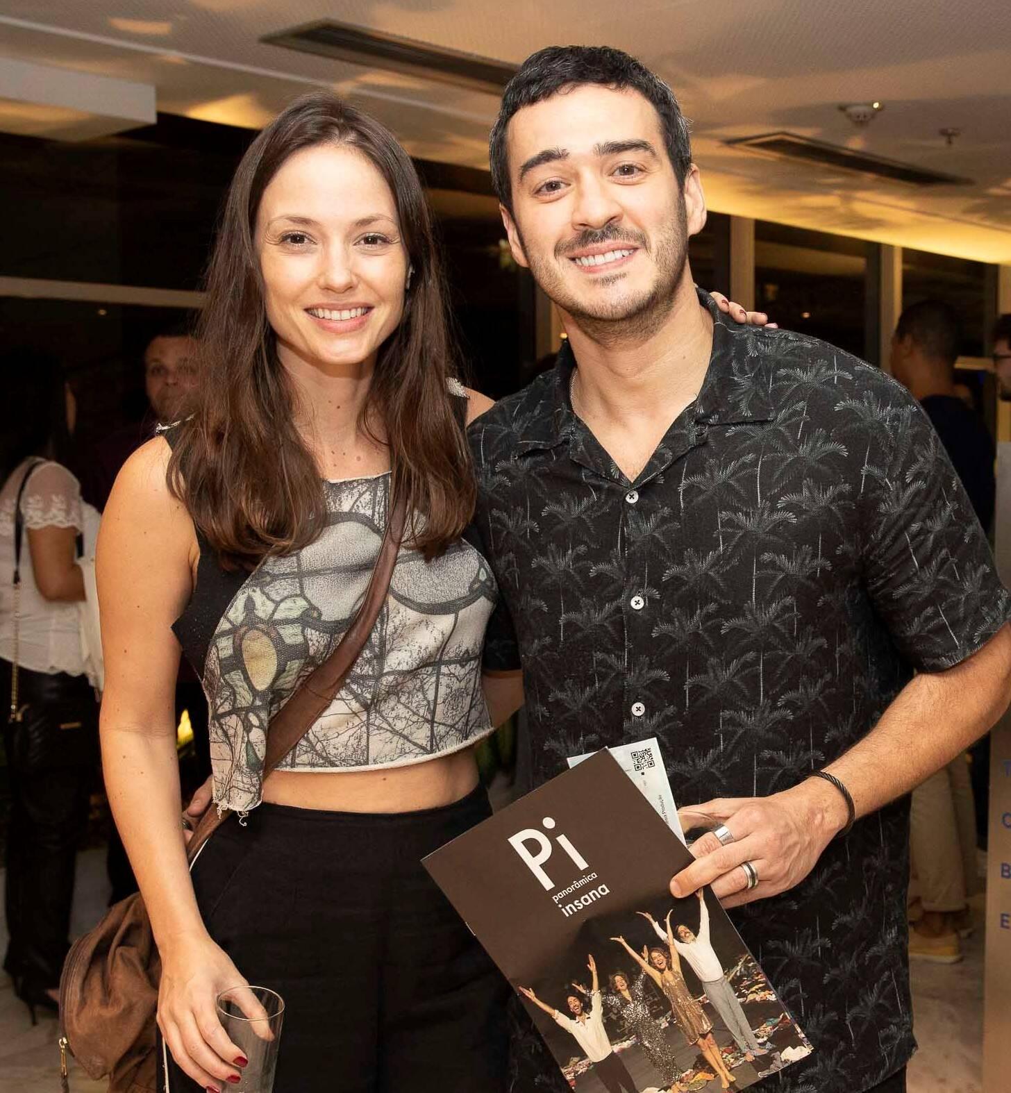 Rosanne Mulholland e  Marcos Veras /Foto: Felipe Panfili