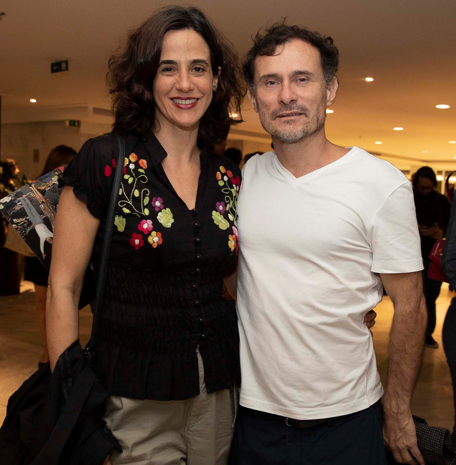 Mariana Lima e Henrique Diaz  /Foto: Felipe Panfili