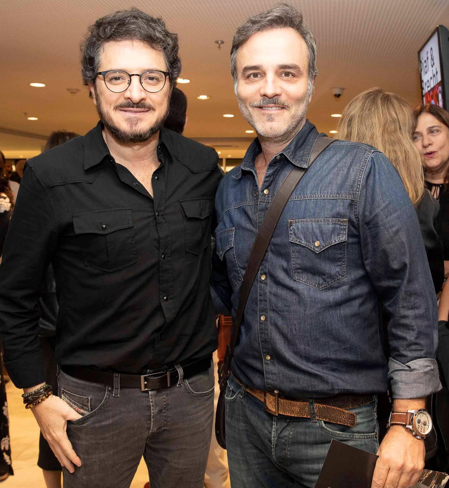 Guilherme Piva e Marcelo Valle  /Foto: Felipe Panfili