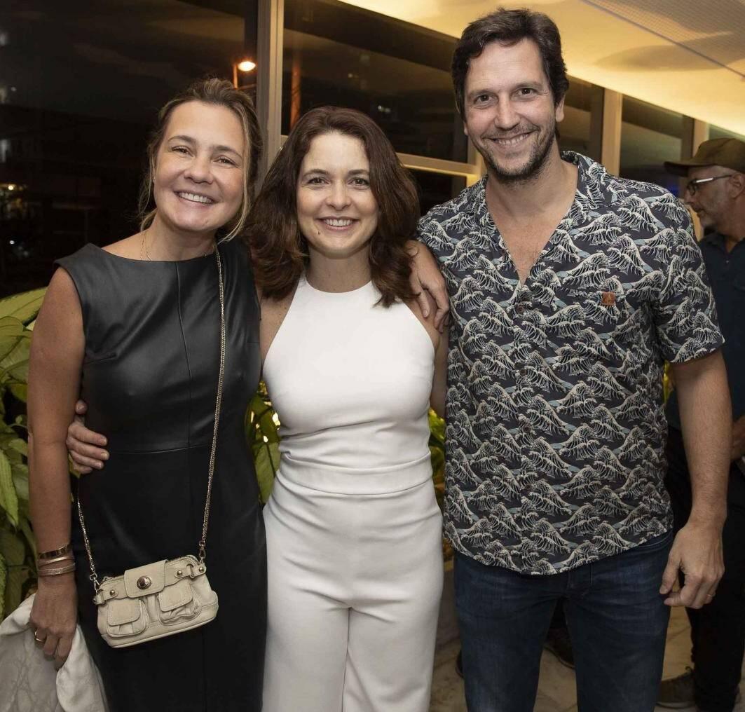 Adriana Esteves, Cláudia Abreu e Vladimir Brichita /Foto: Felipe Panfili