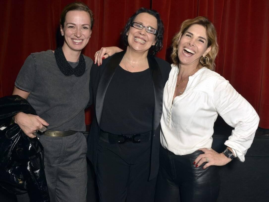 Francisca Queiroz, Ana Beatriz Nogueira e Helena Fernandes /Foto: Cristina Granato