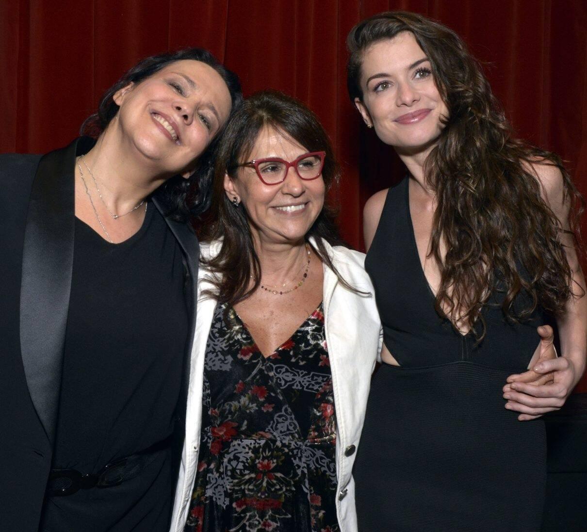 Ana Beatriz Nogueira, Clarisse Derzié Luz e  Alinne Moraes /Foto: Cristina Granato
