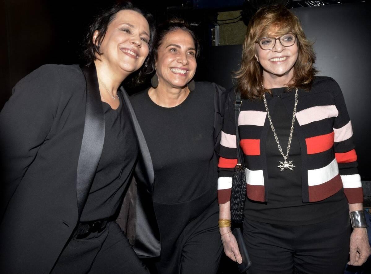 Ana Betariz Nogueira, Totia Meireles e Glória Perez /Foto: Cristina Granato