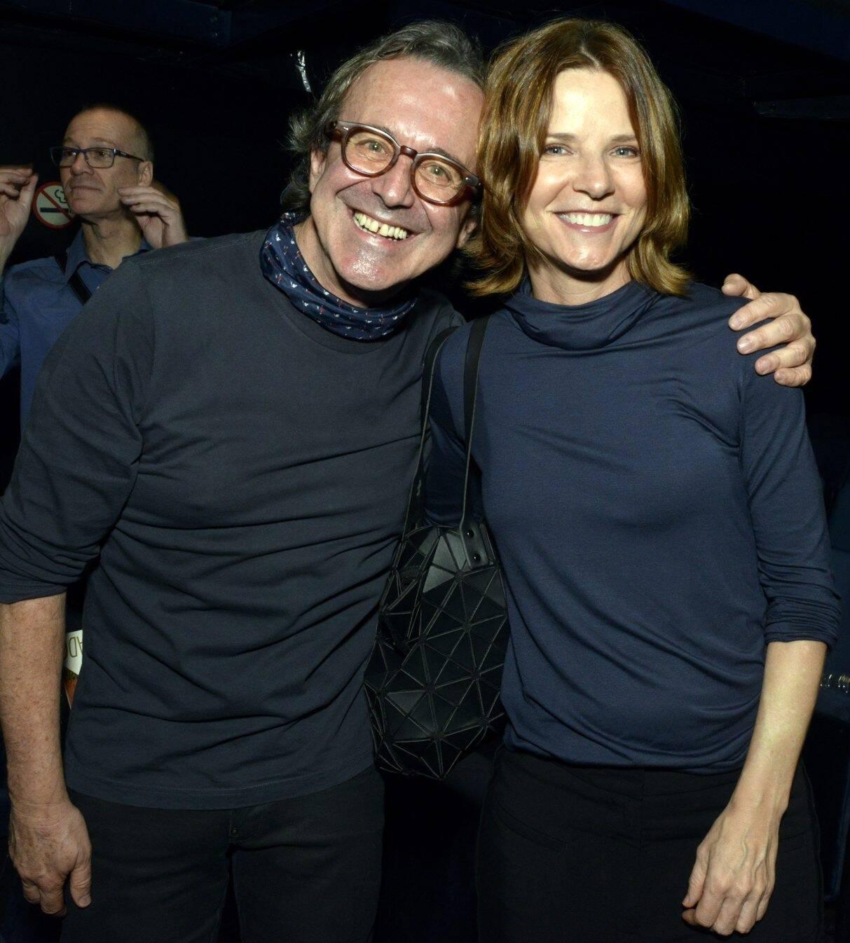 Nelson Fonseca e Vera Zimmerman /Foto: Cristina Granato
