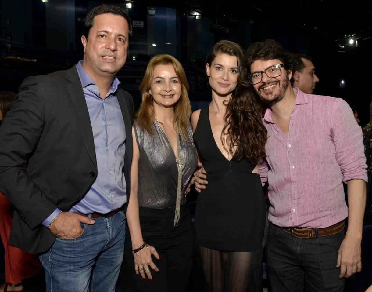 Eduardo Braule-Wanderley, Simone Cadinelli , Alinne Moraes e André Junqueira   /Foto: Cristina Granato