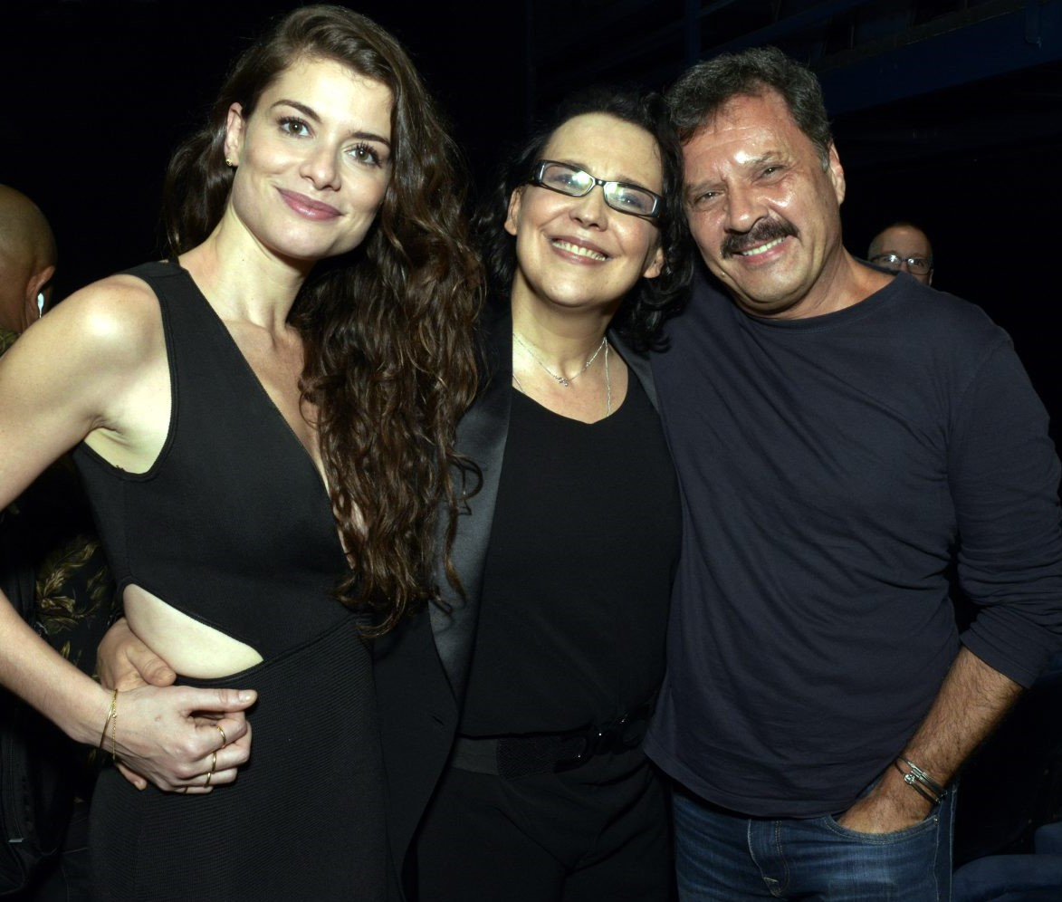 Alinne Moraes, Ana Beatriz Nogueira e Victor Garcia Peralta /Foto: Cristina Granato